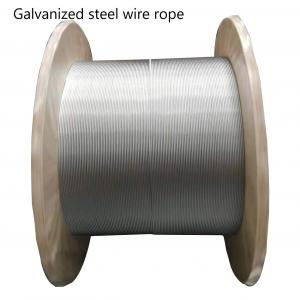 China High Tensile Strength Galvanized Steel Wire high quality galvanized steel wire rope on sale