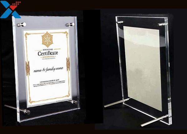 clear acrylic photo frame a4 a3 certificate business license frame for sale acrylic photo frame manufacturer from china 109017477 clear acrylic photo frame a4 a3