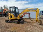 Small Space Workplace 3595kg PC35MR Used Komatsu Excavator