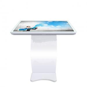 China LCD Capacitive Touch Screen Free Standing Digital Signage All In One Touch Kiosk on sale