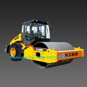 China Mechanical Control 14 Ton Road Roller Machine XCMG XS143J With Air Conditioner on sale