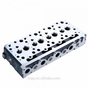 China Casting Iron Auto Cylinder Heads For Kubota V2403 Excavator Bullzoer Forkift on sale