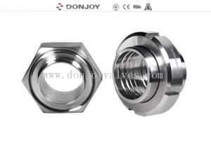 China SMS,DIN,IDF standard stainless steel 304 316L sanitary forged union for beer pipe line on sale