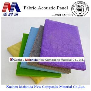 China Interior Decorative Acoustic Fabric Wall Covering on sale