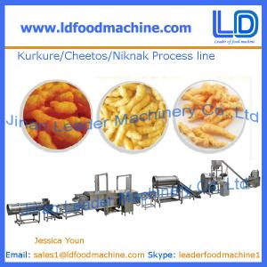 China Kurkure /Cheetos /Niknak production line,snacks food machine on sale