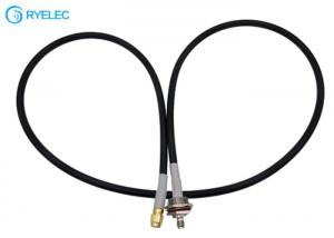 China SMA Male To SMA Female With M16*1.0 Fixing Thread Seal Oring Ultraflex LMR240 Cable on sale