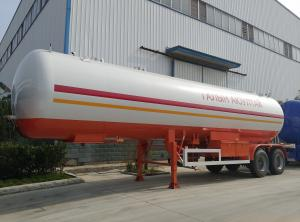 China high quality 2 axles low price lpg tank trailer price lpg gas tanker trailer for sale on sale
