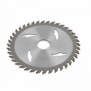 China Gray Color TCT Wood Cutting Saw Blade , 110mm Circular Saw Blade on sale