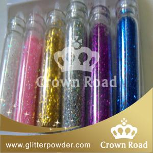 China 1/64 colorful water bottle glitter shaker on sale