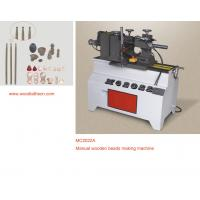 China Manual wood lathe process round head of small wood on sale