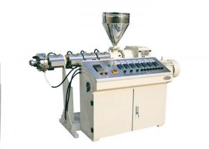 China Single Screw Small Plastic Extruder Machine Low Energy Consumption on sale