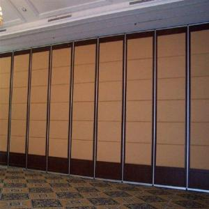 China Banquet Hall Movable Sound Proof Partition Wall Acoustic Folding Room Partitions on sale