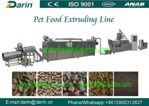China Large capacity pellet fish feed extruder machine for Make Animal Food on sale
