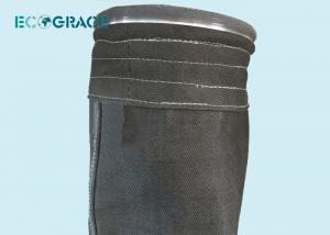 China ECOGRACE 750g/M2 Metal Smelting Filter Sleeves on sale