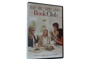 China Wholesale Latest Movie DVD Book Club Movie DVD Comedy Drama Series Film DVD For Family on sale
