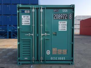China Offshore Small Shipping Containers With Man Door DNV Standard 10 Foot Steel Floor on sale