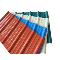 China Zinc Coated SGCH SPCC Corrugated Metal Roofing Sheets For Civil Building on sale