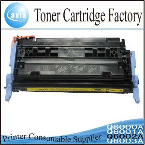 China Laser toner cartridge Q6000a Q6001a Q6002a Q6003a for hp printer on sale