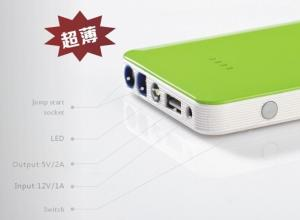 China The Ultra Thin Multifuction Jump Starter Portable Power Bank supplier