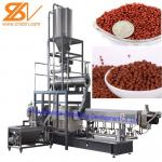 Aquatic Floating Fish Feed Pellet Machine Double Screw Extruder Craft