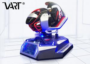 China High Speed Dynamic Seats 9D VR Racing Simulator Car With Thrilling Driving Games on sale