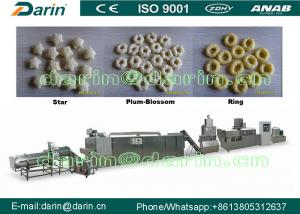 China Large Capacity Corn Puff Extruder Machine , double screw extruder machine on sale