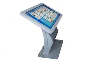 China Mall Advertising Touch Screen Display , All In One Pc Floor Standing Lcd Tv Kiosk on sale
