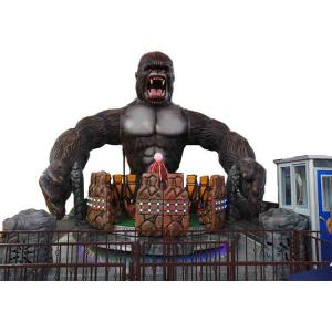 China Funny Amusement Park Thrill Rides / King Kong Ride With FRP Decoration on sale