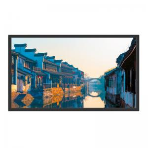 China 32'' Capacitive Touch Screen Digital Lcd Advertising Display 6ms Wall Hanging on sale