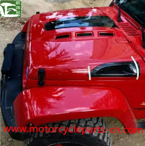 Jeep Wrangler Off Road 4 4 Avenger Engine Hood With Carbon Fiber Vents For Sale Auto Parts Accessories Manufacturer From China 103631003