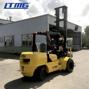China 6m Lift Height Diesel Engine Forklift Truck 4 Ton Streamline Balance Weight on sale