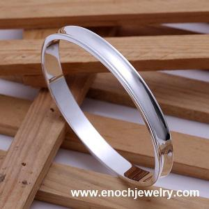 China 925 sterling silver bangle sterling silver wire bangle on sale
