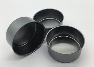 China 65x30mm 80ml 3.5G Metal Tin Containers With Lids / Small Dry Herb Packaging Can on sale