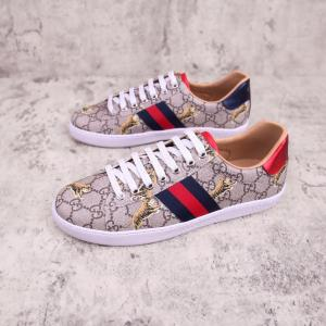 China Gucci 2019 New Couple's Coffee Color Casual Shoes on sale