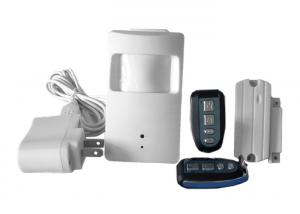 China Wireless Video Alarm System With PIR and Closed Circuit Television Camera on sale