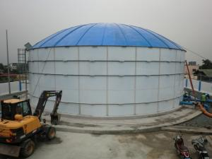 China Anti Corrosion Drinking Water Storage Tank White Color Easy Maintenance on sale