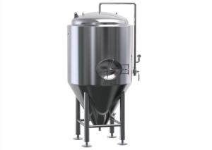 China 300 Gallon Stainless Steel Fermenter Wine Jacket Storage For Brewing Equipment on sale