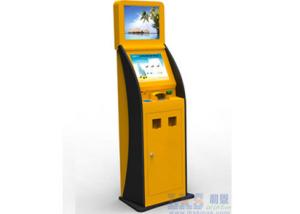 China Ticket Vending Machine Card Issuing Machine Write Magnetic / IC / RFID Kiosk on sale