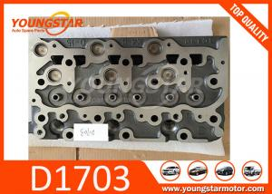 China Casting Iron Diesel Engine Car Cylinder Head For Kubota D1703B and D1703A 1644403047 16444-03047 on sale