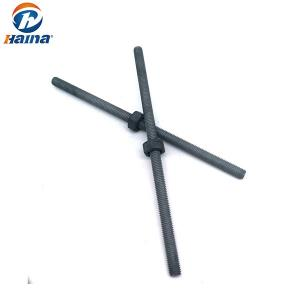 China Metric DIN975 B7 / B7M Fully Threaded Rod Hot DIP Galvanized HDG For Tower on sale