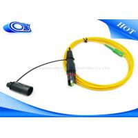 China Singlemode 3.0mm 2 Meter / waterproof fiber optic cable SC / APC / fiber optic ethernet cable on sale