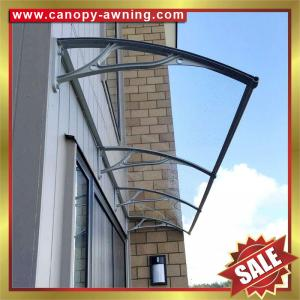 Window Door Polycarbonate Canopy With Cast Aluminium Bracket Aluminium Awning Diy Awning Canopies Great Outdoor Shelter For Sale Door Window Canopy Awning Shelter Manufacturer From China 105502094