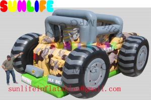 China inflatable ATV car combo slide on sale