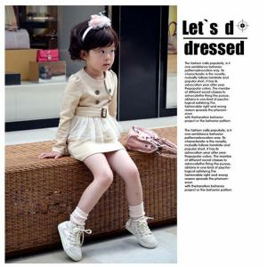 China Free sample 2014 hign quality cotton baby clothing sets girls dresses vintage clothing wholesale on sale