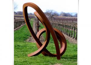 Outdoor Unique Decoration Metal Art Sculpture Corten Steel