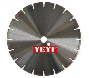 China Dia 180mm 300mm 400mm Diamond Concrete , Sandstone , Asphalt Saw Blades Segmented Type on sale