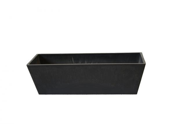 Rectangular Planter Black Plastic