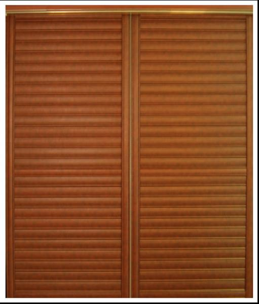 Wooden Sliding Louvered Closet Doors Bedroom Plate Aluminum Door For Images