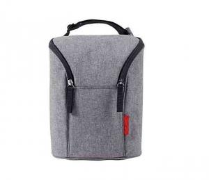 China Impact Resistance Polyester Cooler Bag Insulated Baby Bottle Cooler Bag on sale