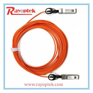 China Cliend Side SFP+AOC Data Center 10G SFP Optic Cable on sale